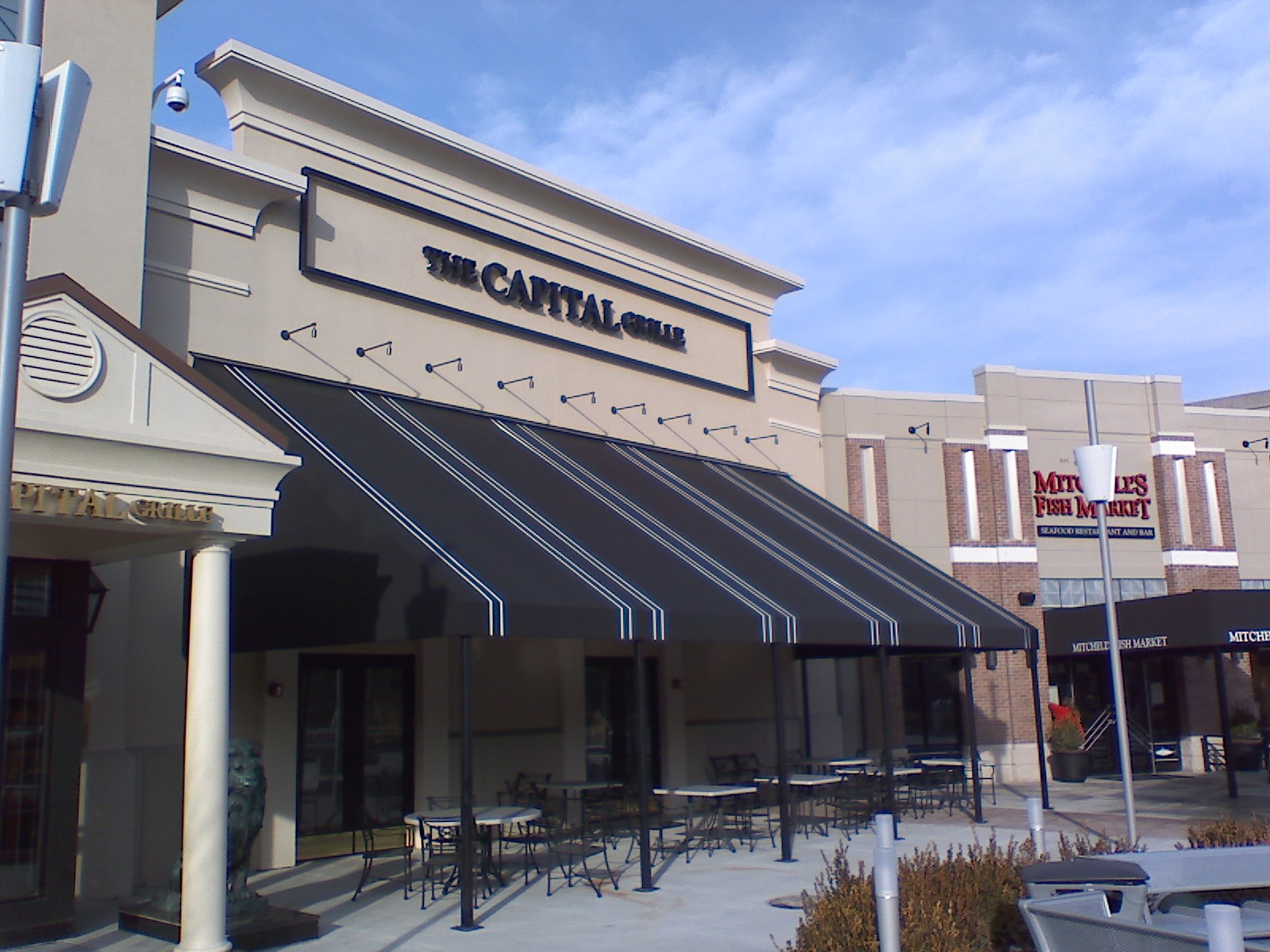 Large Awning Designed For The Capital Grill.