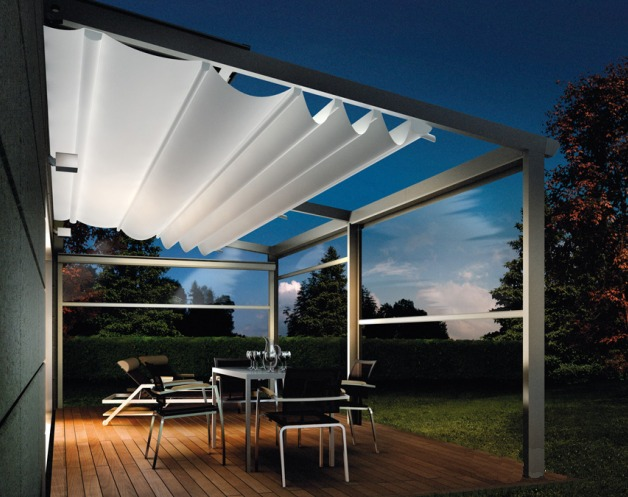 New Haven Awning Now Offering Corradi Pergotenda 174 New