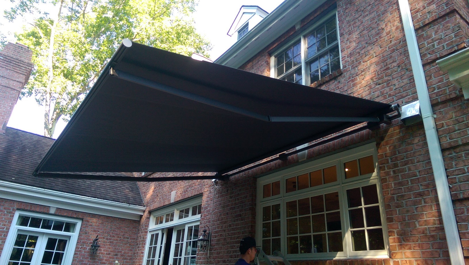 New Retractable Awning Installed By Dean And The Rest Of Haven Crew Now These Lucky Customers Can Keep Their Company Cool Dry While