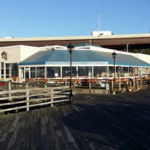 Joey C's extends their outdoor bar & patio season with a great patio enclosure!