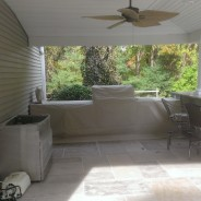 New Outdoor Kitchen Patio Cover!