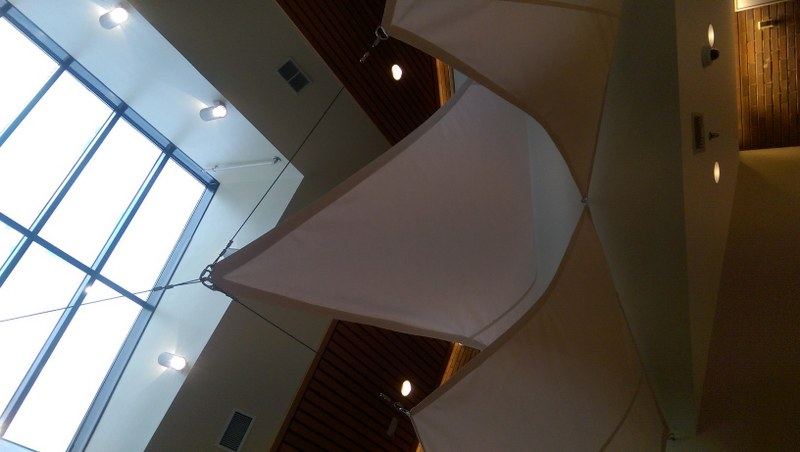 Cooperative Educational Services Gets Indoor Shade Sails