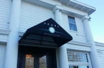 Entrance Awning at Pearl at Longshore located In Westport CT