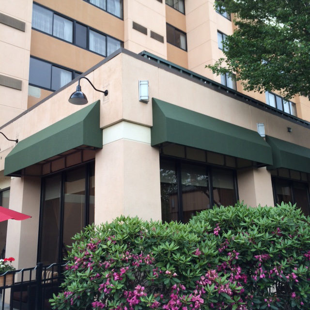 The Courtyard Marriott In Shelton Ct Gets Their Awnings