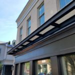 Commercial Steel Canopy in Hartford, CT