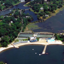Phase 2 At The Tokeneke Beach and Tennis club in Darien CT Is Underway!