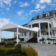 Entrance Awning AT Watch Hill, Rhode Island
