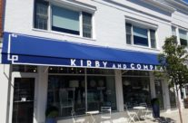 Kirby & Co. of Darien CT Gets Custom Retractable Entrance Awnings!