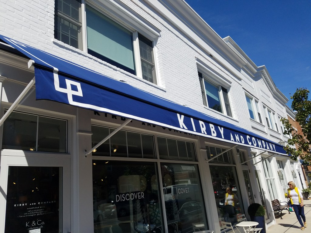 Kirby Amp Co Of Darien Ct Gets Custom Retractable Awnings