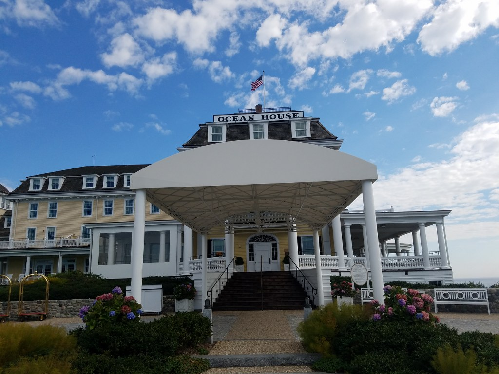 The Ocean House Is Ready For The Winter New Haven Awning