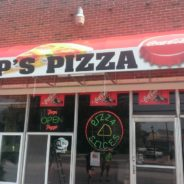 Pop's Pizza Photo Quality Awning Graphics