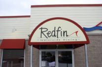 Redfin Fine Dining – Cutom Graphics on Awning