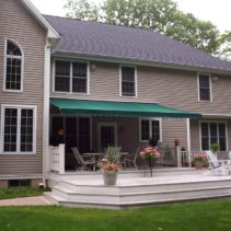 Residential Retractable Porch Awning