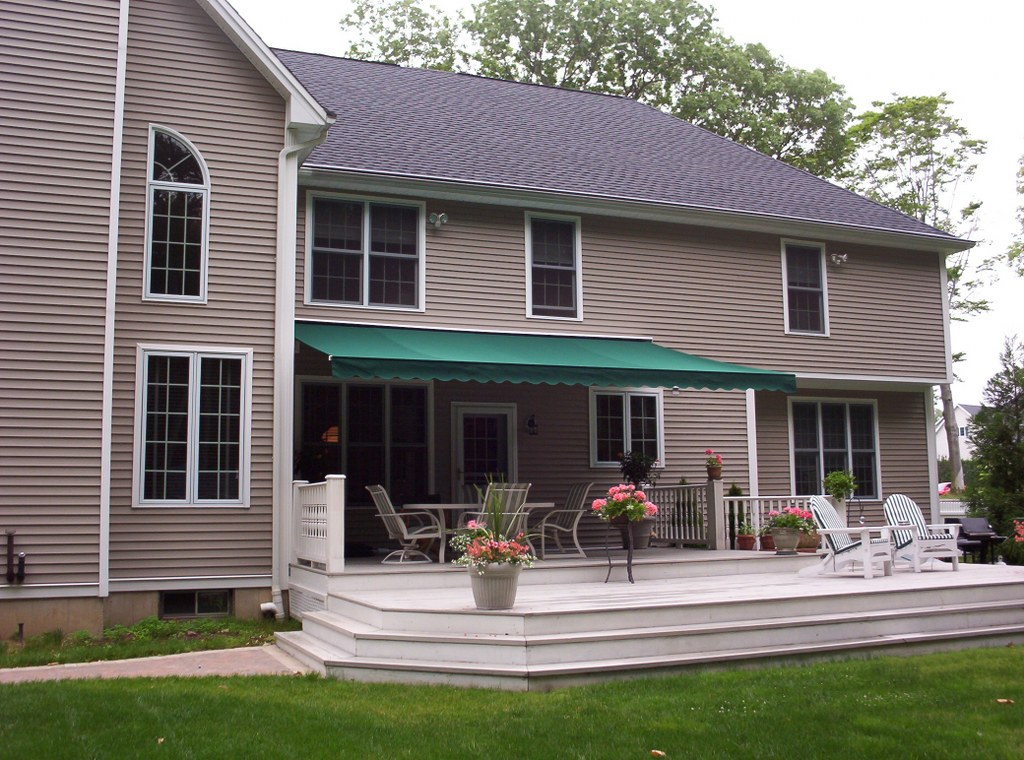 Residential Retractable Porch Awning New Haven Awning