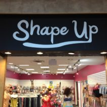 Shape Up In Mall Awning Graphics