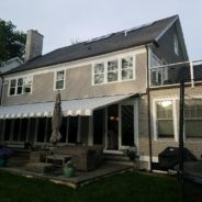 A Happy Home In Owner In Norwalk, CT Got thier Retractable Awning Recovered!