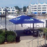 Harbor Point in Stamford CT Gets a Custom Built Canopy.
