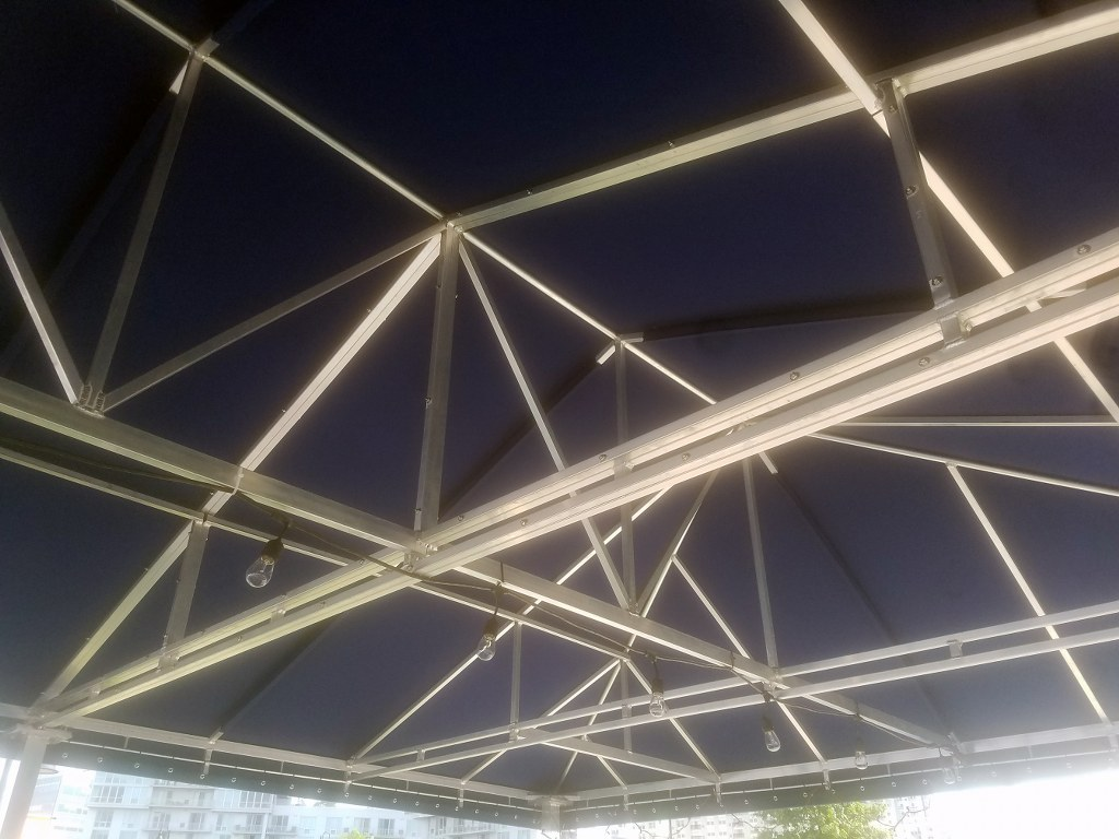 Harbor Point In Stamford Ct Gets A Custom Built Canopy