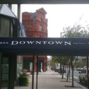 Max Downtown Gets a Beautiful Custom Entrance Canopy.