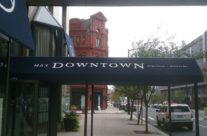 Max Downtown – Custom Entrance Canopy