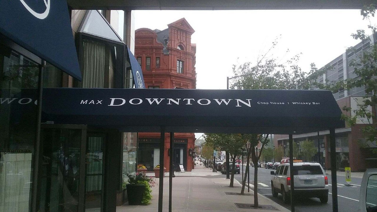 Max Downtown Gets A Beautiful Custom Entrance Canopy