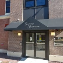 Gateway Apartments Get A Great Entrance Awning