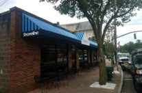 Shoreline Café & Catering Gets a Huge Storefront Canopy