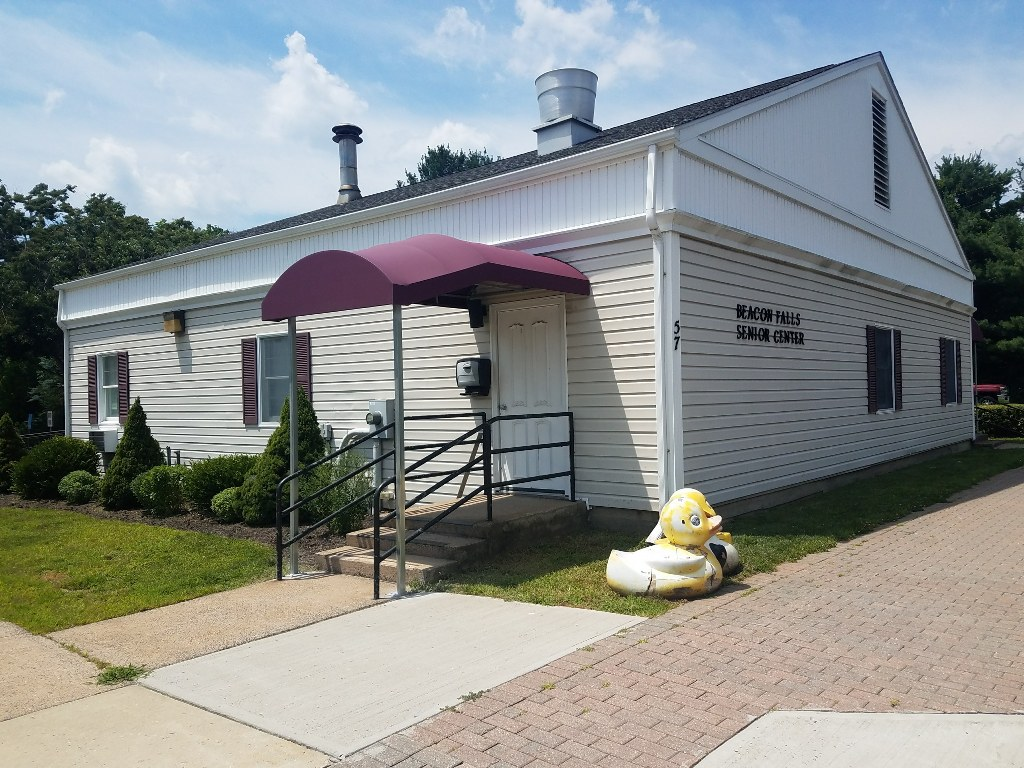 Beacon Falls Senior Center Gets New Front And Rear Entrance Awnings