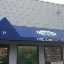 Crescent Cleaners In Stamford Gets Three New Shed Awnings!
