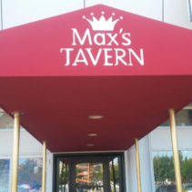 Max's Tavern Gets a New Entrance Canopy.