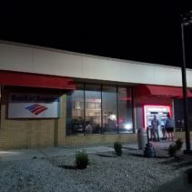 Bank of America Gets Two Custom Shed Awnings!