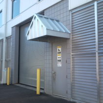 Commercial Metal Awning In New Haven, Connecticut