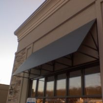 Flat Panel Aluminum Awning in Branford, CT