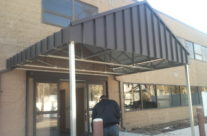 Metal Entrance Awning in Manchester, CT