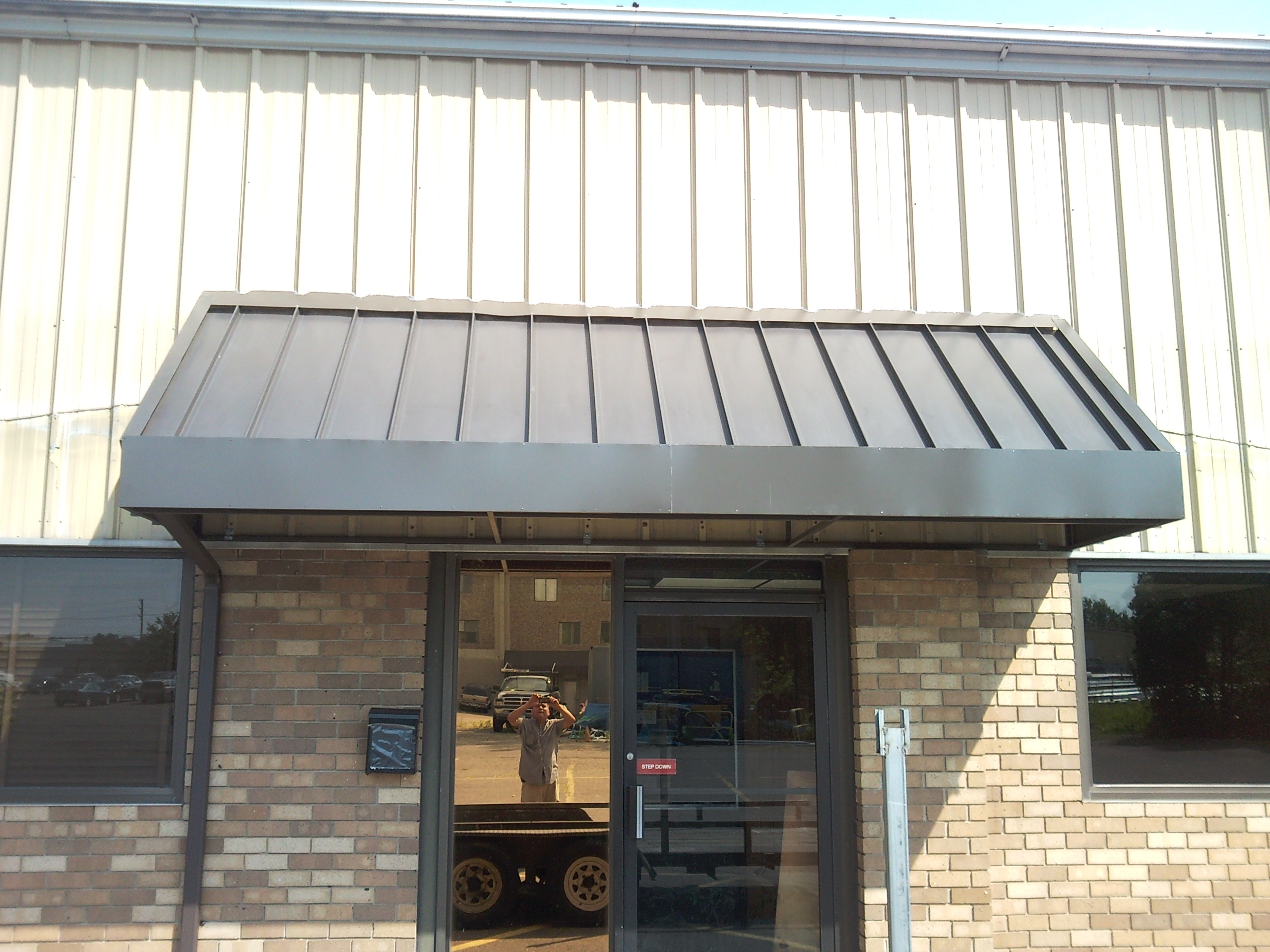 Metal Rear Entrance Awning In Manchester Ct New Haven
