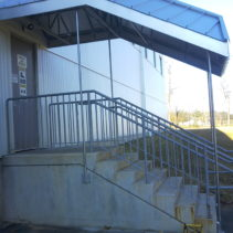 Metal Staircase Canopy in Milford, CT