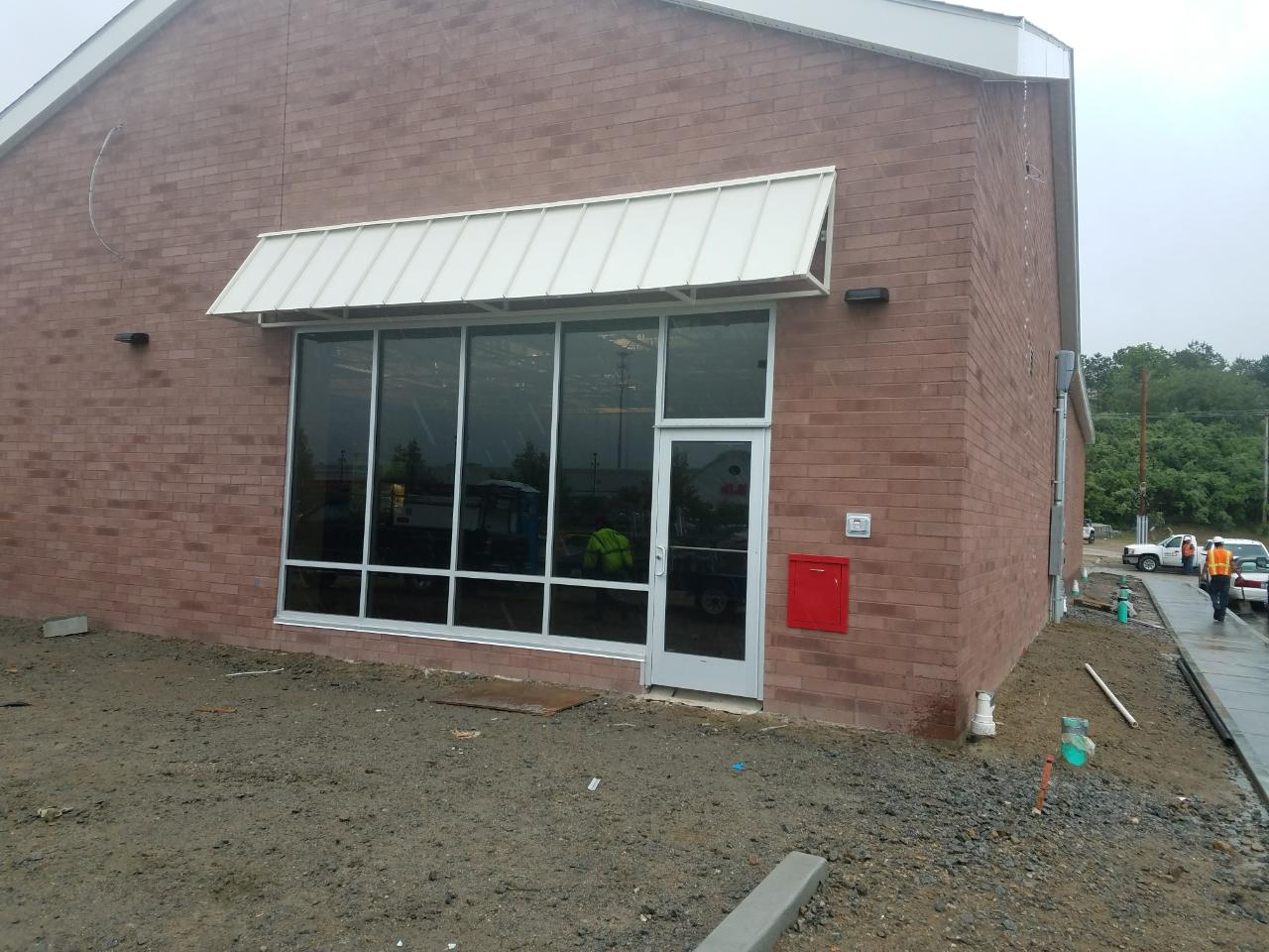 Metal Standing Seam Canopy In Hartford Ct New Haven Awning