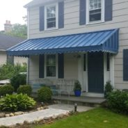 Standing Seam Awnings, Still Standing The Test Of Time.
