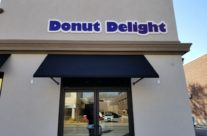 Open Traditional Awnings For Donut Delight