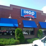 Hamden's IHOP Gets Their Awnings Recovered.