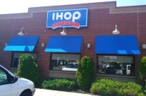 Open Traditional Awning For IHop