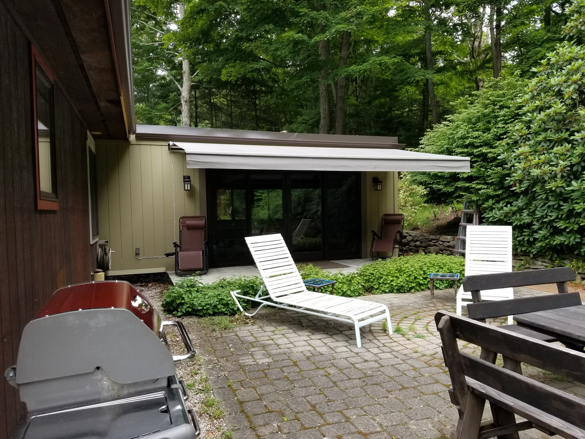 New Retractable Awning Install New Haven Awning