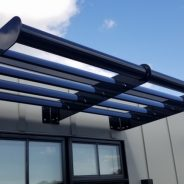 Phase One For The Mason – Airfoil Sunshades!